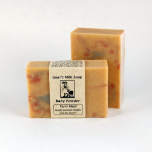 Baby Farts Goat's Milk Soap - Previously labeled as Baby Powder