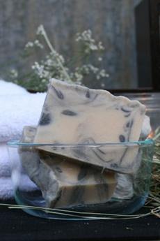 Anise goat milk soap