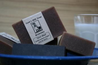 Brownies Goat's Milk Soap