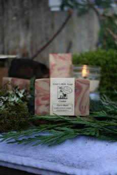 Cedar Goat's Milk Soap