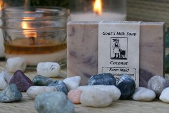 Coconut Goat's Milk Soap2