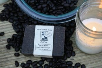 Coffee Goat's Milk Soap3