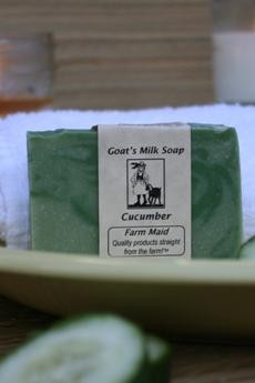 Cucumber Goat's Milk Soap