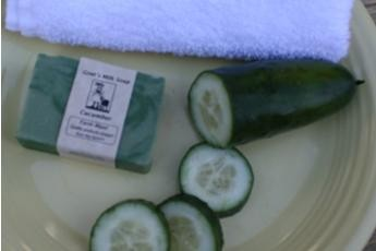 Cucumber Goat's Milk Soap3