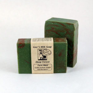 Deep Forest Goat's Milk Soap ~ All Natural