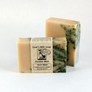 Double Mint Goat's Milk Soap ~ All Natural