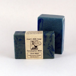 Eucalyptus Mint Goat's Milk Soap ~ All Natural