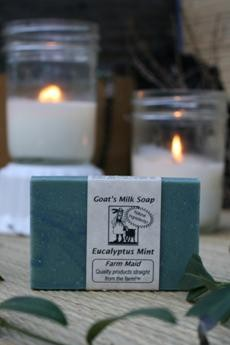 Eucalyptus Mint Goat's Milk Soap2