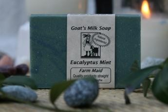 Eucalyptus Mint Goat's Milk Soap3