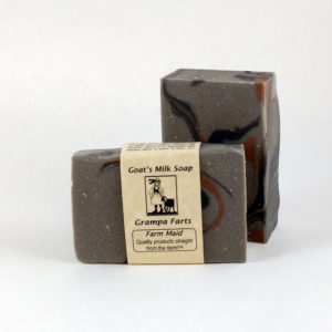 Grampa's Farts Goat's Milk Soap - Previously named Grampa's Pipe
