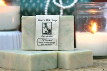Gardenia Goat's Milk Soap2
