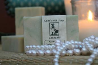 Gardenia Goat's Milk Soap3