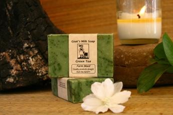 Green Tea Goat's Milk Soap2