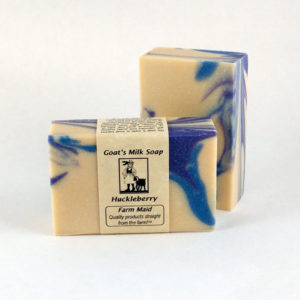 Huckleberry Goat's Milk Soap