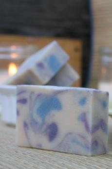 Huckleberry Goat's Milk Soap3