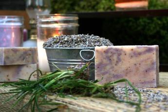 Lavender Goat's Milk Soap2