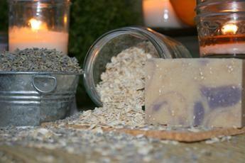 Lavender & Oats Goat's Milk Soap 2