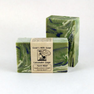 Lavender Sage Goat's Milk Soap ~ All Natural