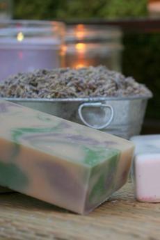 Lavender Sage Goat's Milk Soap