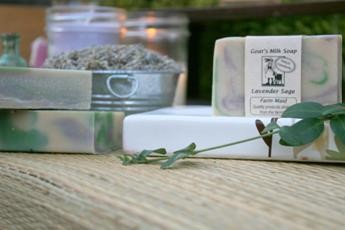 Lavender Sage Goat's Milk Soap3