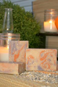 Lavender, Tea Tree, Orange & Oats Goat's Milk Soap
