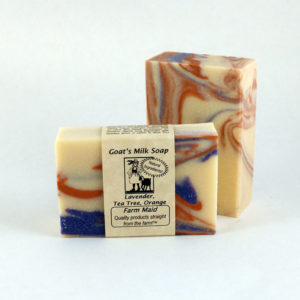 Lavender, TeaTree, Orange Goat's Milk Soap