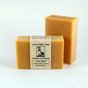 Lemon Verbena Goat's Milk Soap