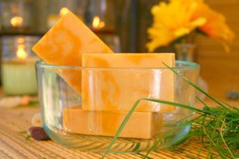 Lemon Verbena Goat's Milk Soap1