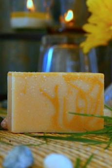 Lemon Verbena Goat's Milk Soap2