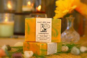 Lemongrass Goat's Milk Soap1