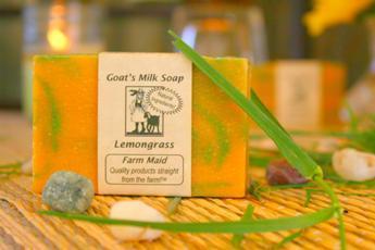 Lemongrass Goat's Milk Soap2