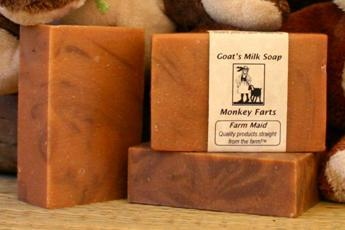 Monkey Farts Goat's Milk Soap