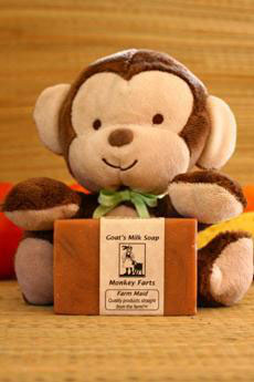 Monkey Farts Goat's Milk Soap2