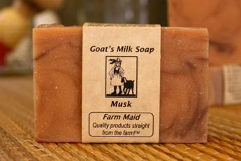 Musk Goat's Milk Soap