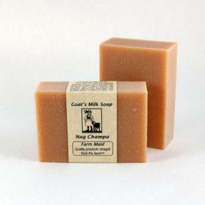 Nag Champa Goat's Milk Soap
