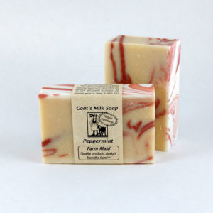 Peppermint Goat's Milk Soap ~ All Natural Soap