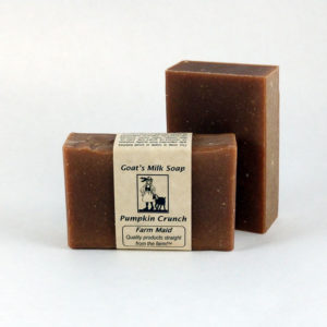 Pumpkin Crunch Goat's Milk Soap