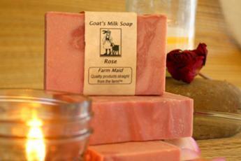 Rose Goat's Milk Soap