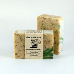 Rosemary Lavender Goat's Milk Soap