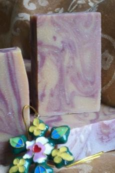 Spiced Cranberry Goat's Milk Soap1