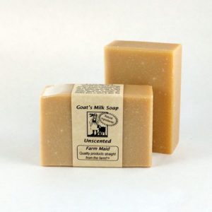 Unscented Milk & Honey Goat's Milk Soap ~ All Natural