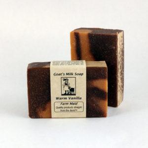 Warm Vanilla Goat's Milk Soap