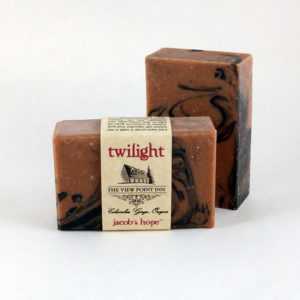 jacob's hope twilight Goat's Milk Soap ~ View Point Inn Logo