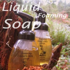 Lavender Foaming Goat's Milk Soap ~ All Natural